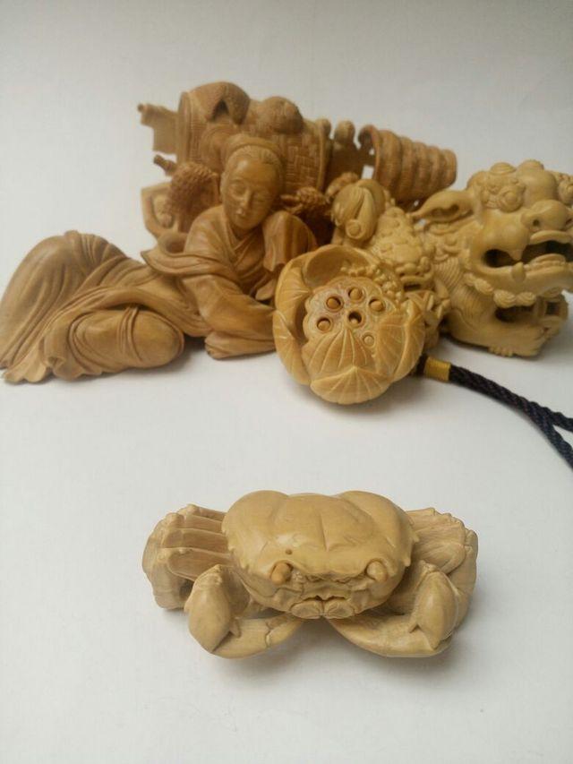 黄杨木雕,小型摆件挂件
