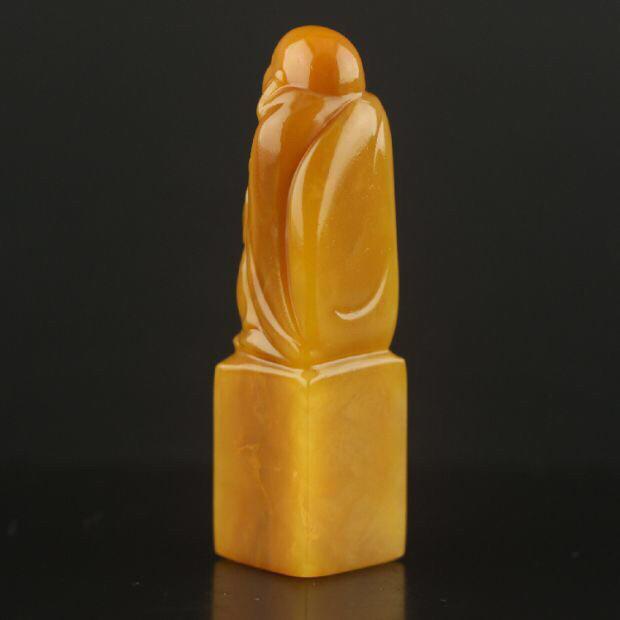 老撾北部田黃石精品印章