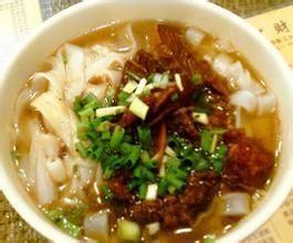 廉江特色美食牛腩粉