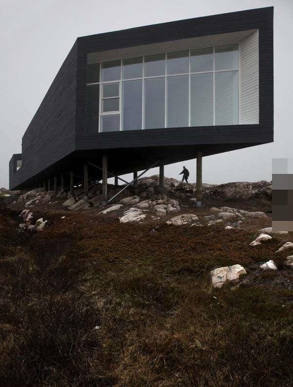 坐落在小岛上有如天才般的建筑,谁看后不想据为己有(2)