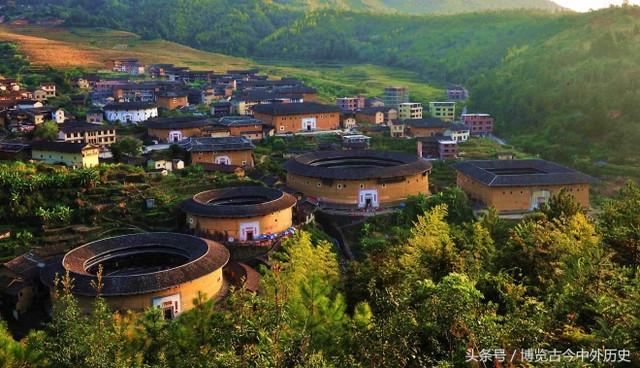 世界上獨一無二的山區大型夯土民居建筑,南靖土樓(1)