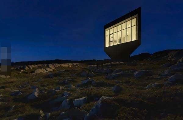 坐落在小岛上有如天才般的建筑,谁看后不想据为己有(3)