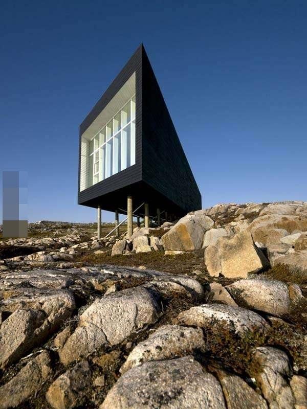 坐落在小岛上有如天才般的建筑,谁看后不想据为己有(1)