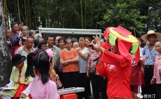 长汀县馆前镇持续开展禁毒、扫黑除恶等宣传活动