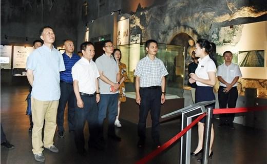 省专家组指导我县天府旅游名县创建工作