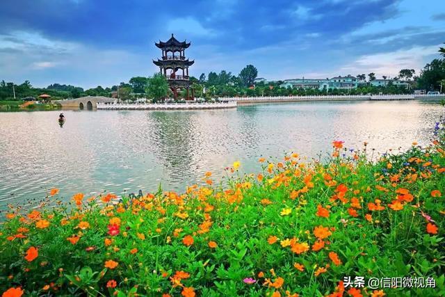 花木之乡今巨变 千年光州新潢川(图)