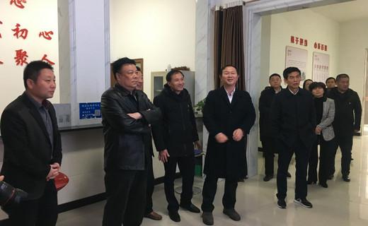 每日瞬间(图片 )12月26日  市政协主席杨小华一行在马影镇调研