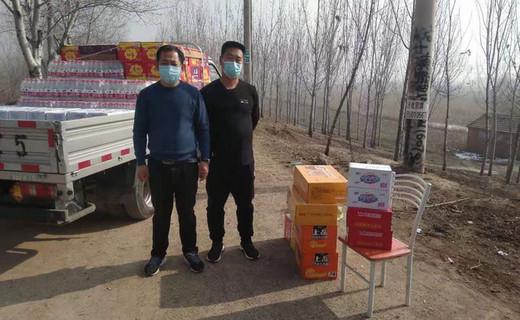 抗疫爱心直击:落垡镇村民捐赠2吨消毒液,防护用品及生活物资