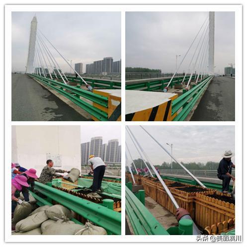 """彩虹桥上披""""彩妆""""   美丽潢川更""""娇艳"""""""