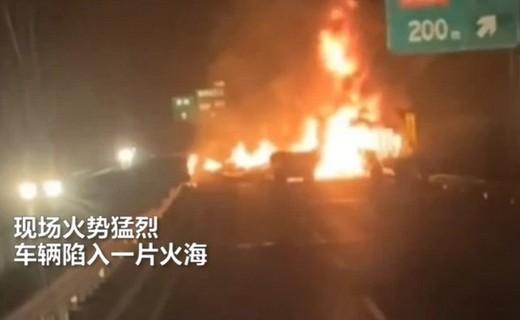 山东发生一起事故,位置在菏泽市,现场画面让人揪心