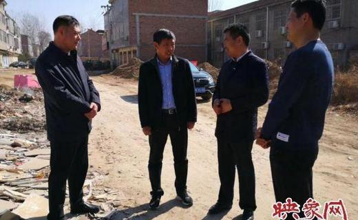 市农业农村局副局长闫海国调研农村人居环境