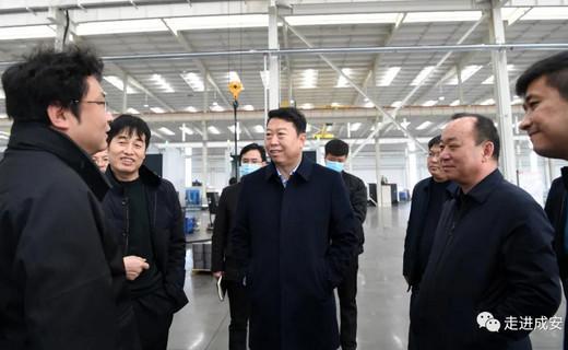 政府县长刘金仓调研项目建设